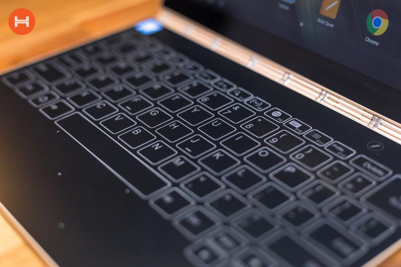 Mở hộp Lenovo Yoga Book: Thiết kế tablet lai laptop, bàn vẻ cảm ứng lực thích hợp cho họa sĩ. hình 19