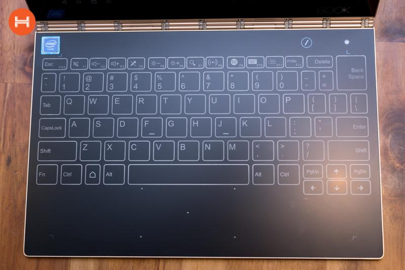 Mở hộp Lenovo Yoga Book: Thiết kế tablet lai laptop, bàn vẻ cảm ứng lực thích hợp cho họa sĩ. hình 18