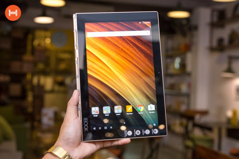 Mở hộp Lenovo Yoga Book: Thiết kế tablet lai laptop, bàn vẻ cảm ứng lực thích hợp cho họa sĩ. hình 2