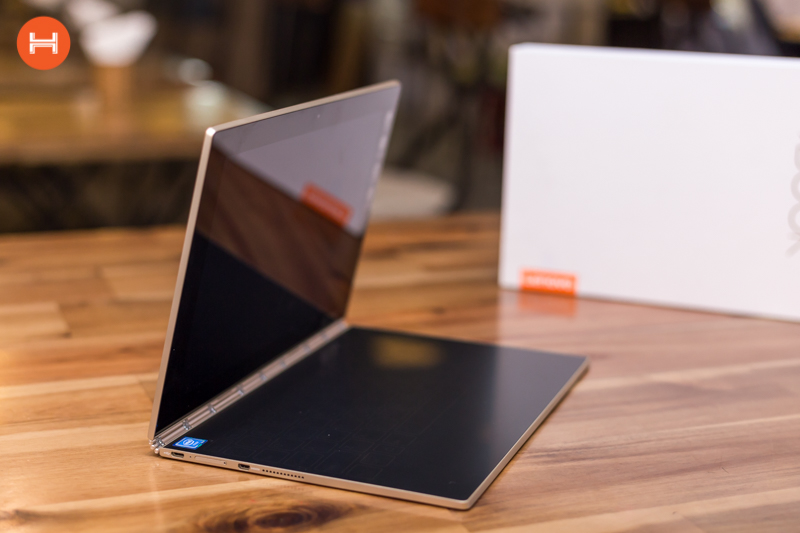 Mở hộp Lenovo Yoga Book: Thiết kế tablet lai laptop, bàn vẻ cảm ứng lực thích hợp cho họa sĩ. hình 15