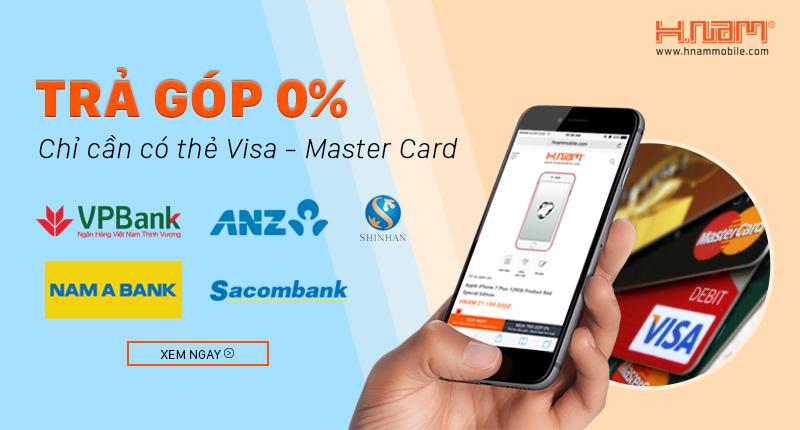 Mua điện thoại trả góp lãi suất 0% qua 5 ngân hàng: Sacombank, VP Bank, Nam Á, ANZ, Shinhan Bank hình 1