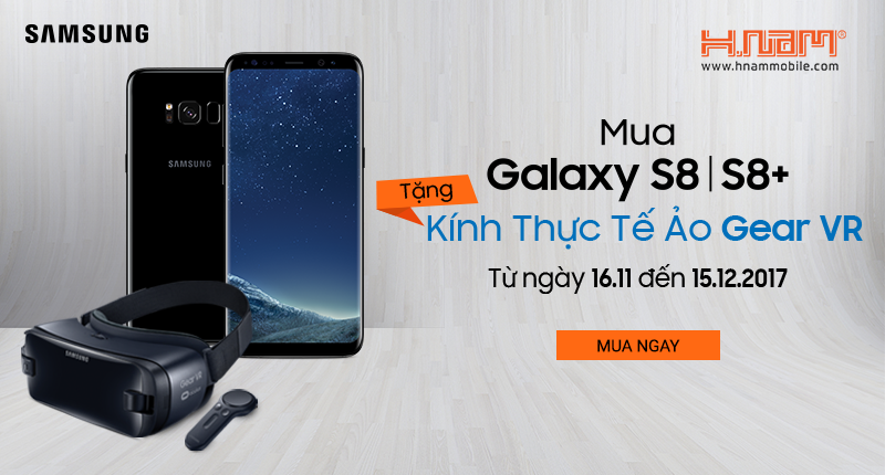 Mua Galaxy S8, S8 Plus - Tặng ngay kính thực tế ảo Gear VR trị giá 2.490.000đ hình 1