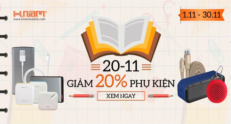 Nhân dịp 20/11: Giảm 20% hàng loạt phụ kiện bán chạy nhất hình 1