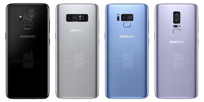 Galaxy S9 lộ ảnh render mới cho thấy thiết kế màn hình cong và camera kép hình 1