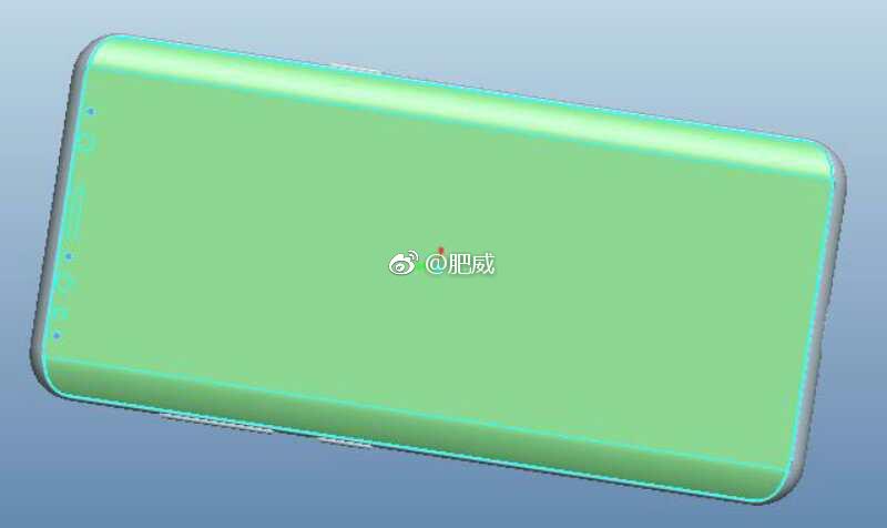 Galaxy S9 lộ ảnh render mới cho thấy thiết kế màn hình cong và camera kép hình 2