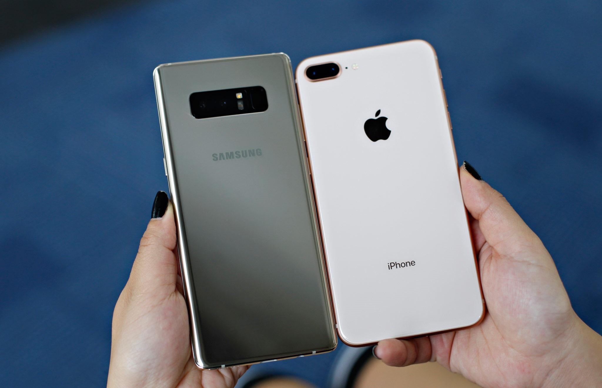 So sánh hiệu năng iPhone 8 Plus và Galaxy Note8: Ai là kẻ chiến thắng? hình 5