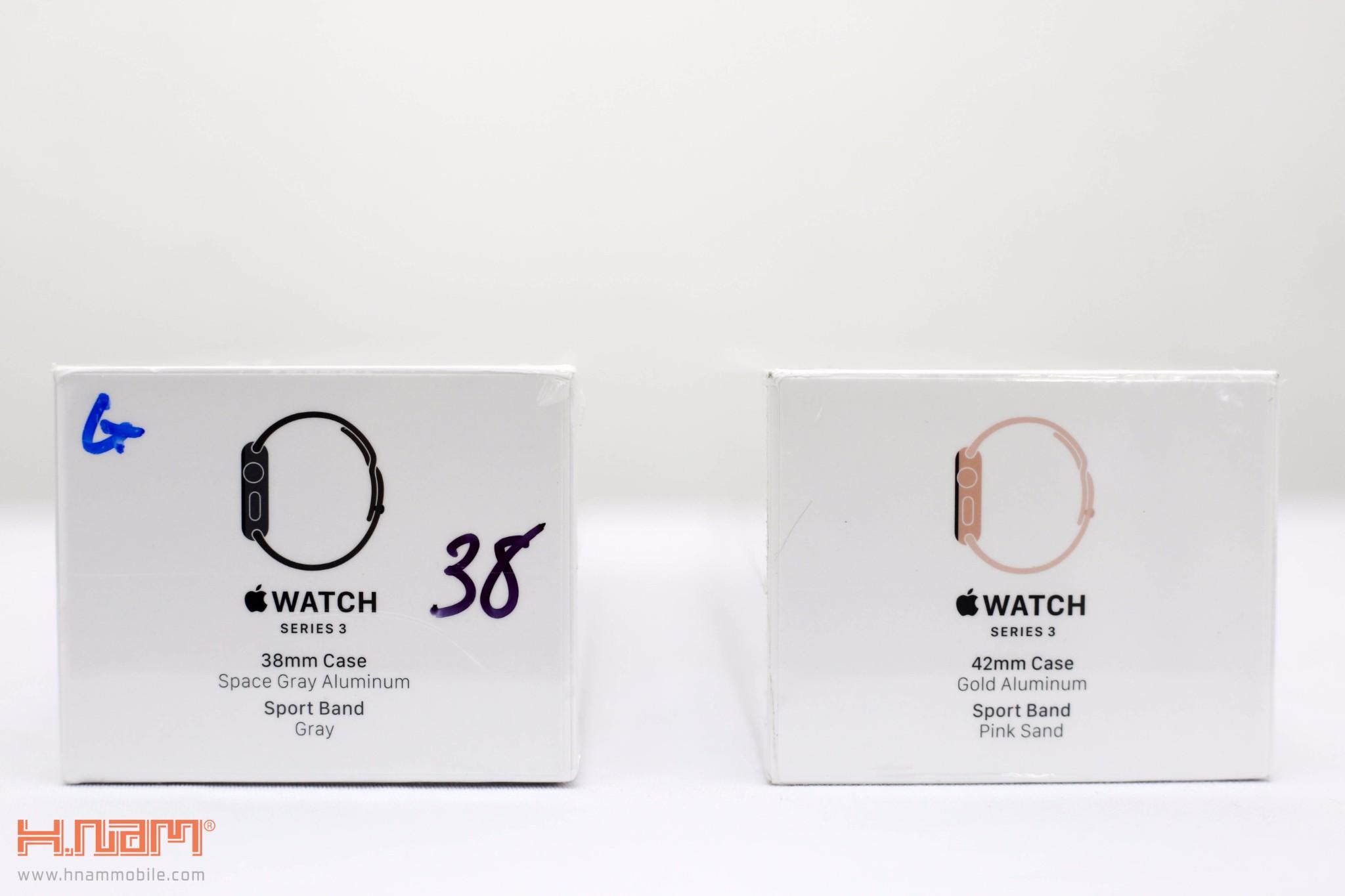 Đập 2 hộp Apple Watch Series 3: Vẫn rất đẹp và hiện đại, cấu hình mạnh hơn hình 3