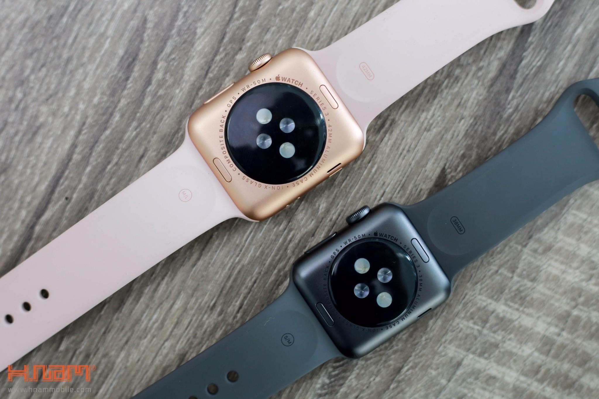 Đập 2 hộp Apple Watch Series 3: Vẫn rất đẹp và hiện đại, cấu hình mạnh hơn hình 8