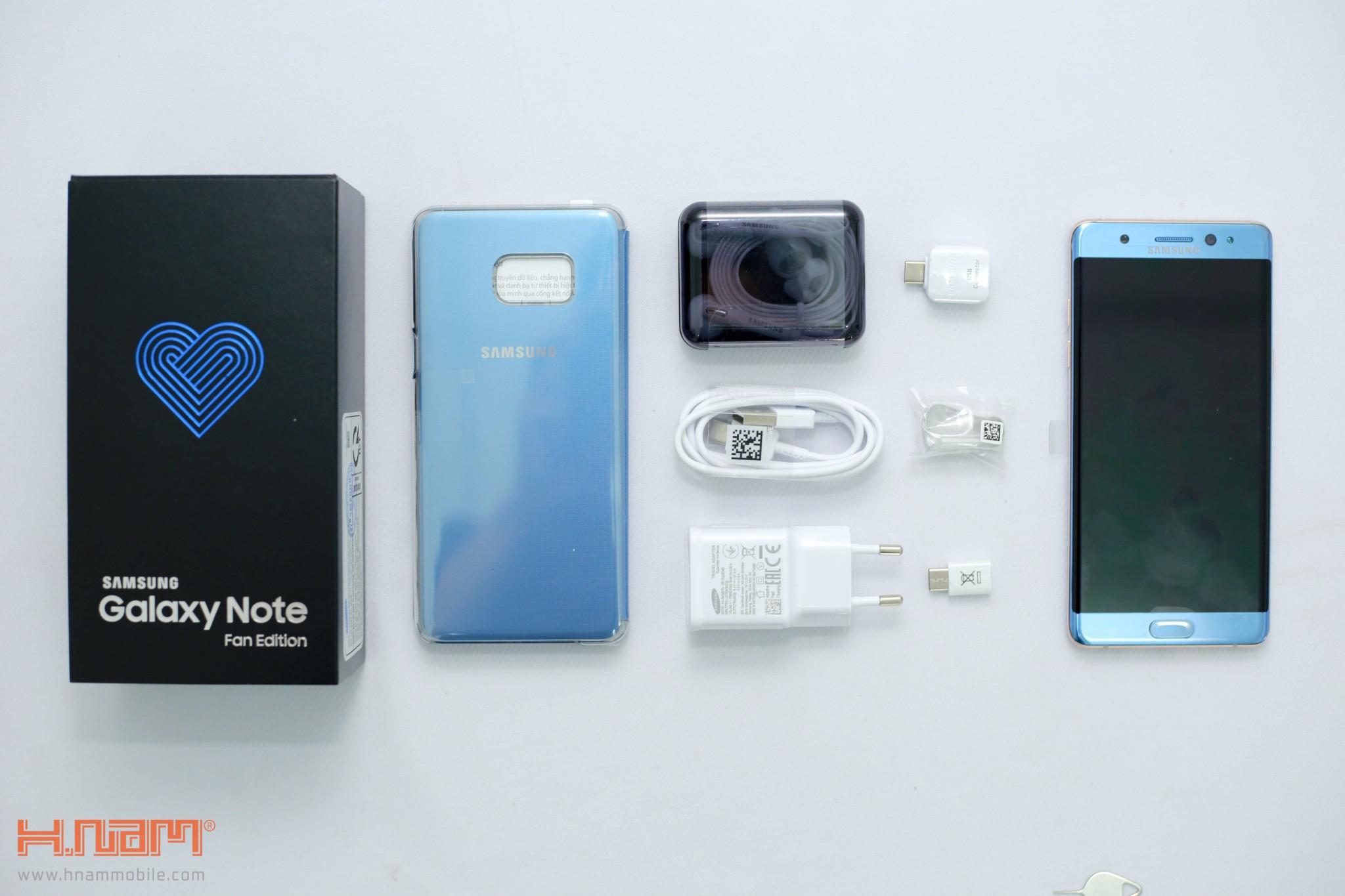 Đập hộp Galaxy Note FE Blue Coral: Phiên bản đặc biệt dành cho NoteFan hình 5
