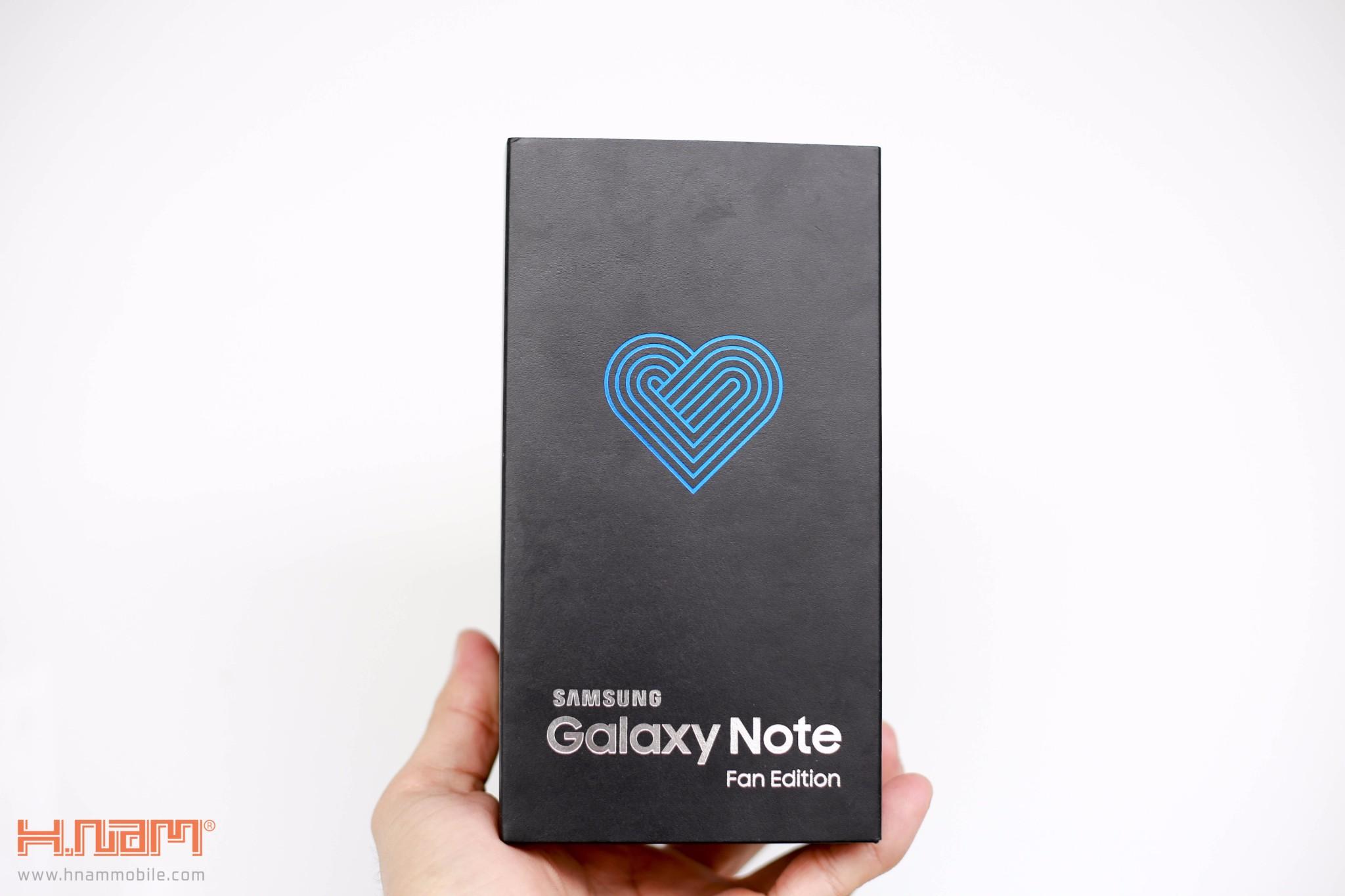 Đập hộp Galaxy Note FE Blue Coral: Phiên bản đặc biệt dành cho NoteFan hình 3