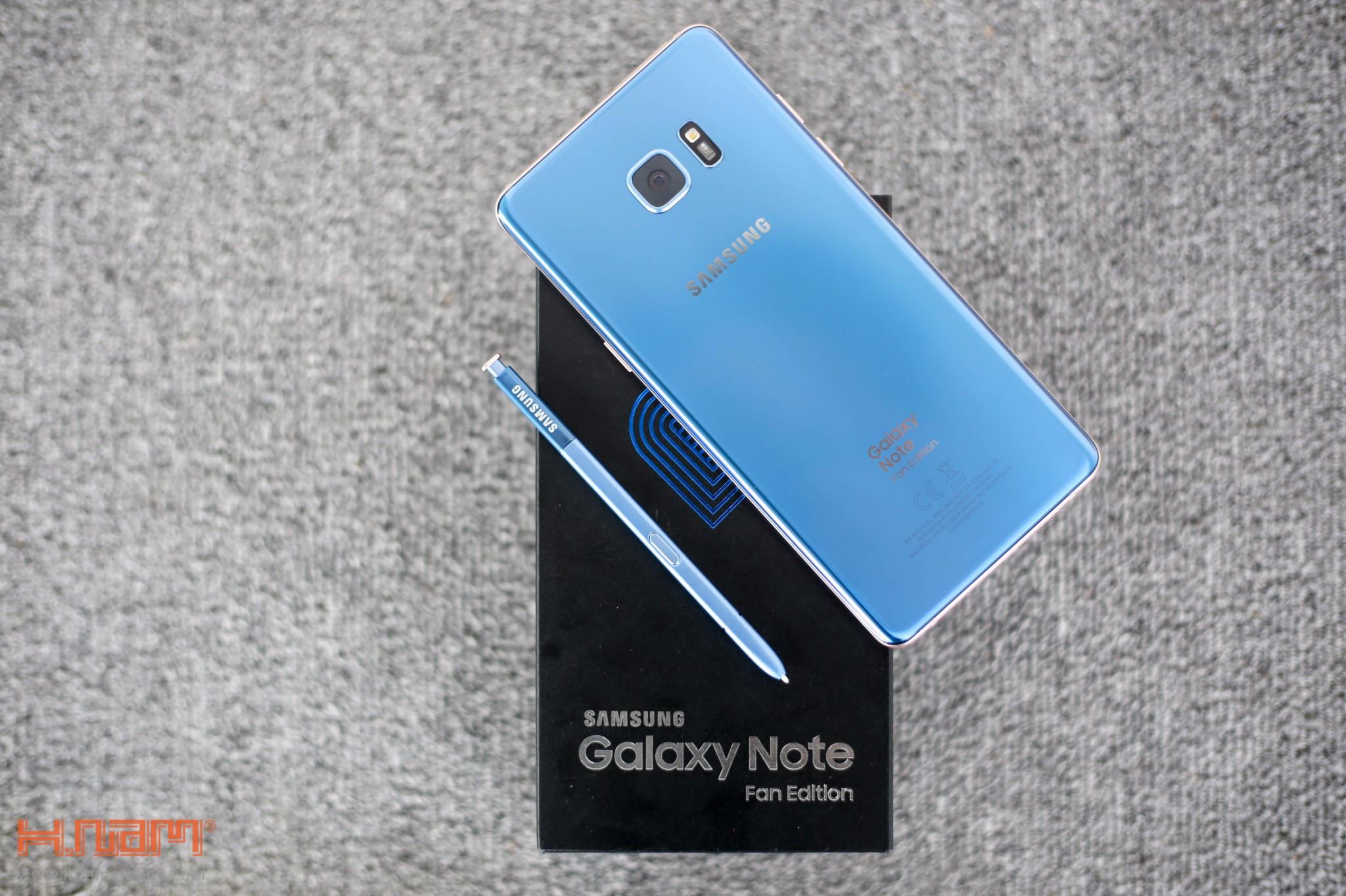 Đập hộp Galaxy Note FE Blue Coral: Phiên bản đặc biệt dành cho NoteFan hình 1