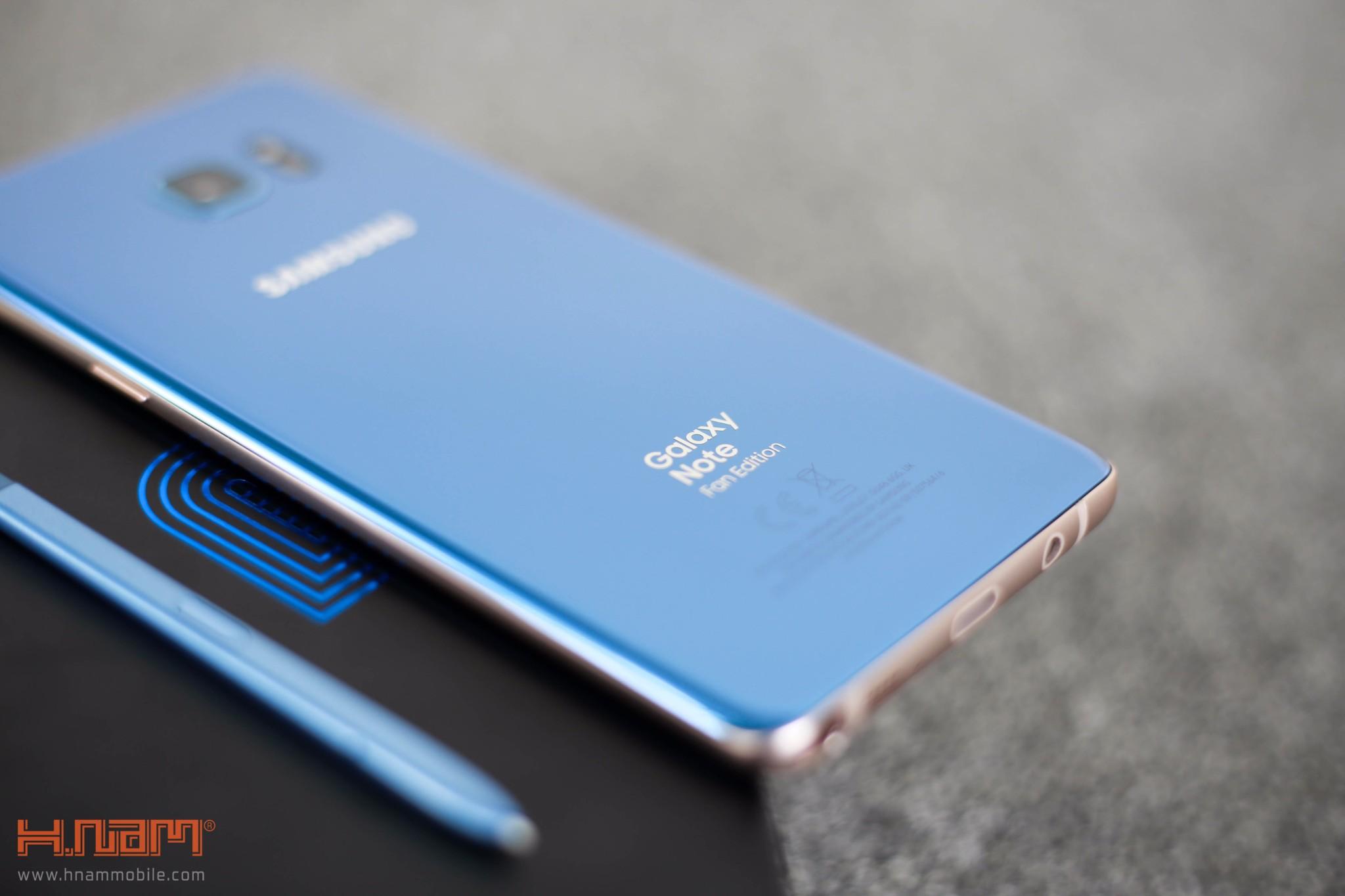 Đập hộp Galaxy Note FE Blue Coral: Phiên bản đặc biệt dành cho NoteFan hình 2