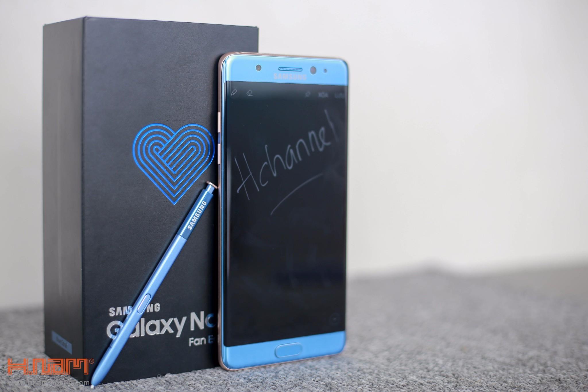 Đập hộp Galaxy Note FE Blue Coral: Phiên bản đặc biệt dành cho NoteFan hình 8