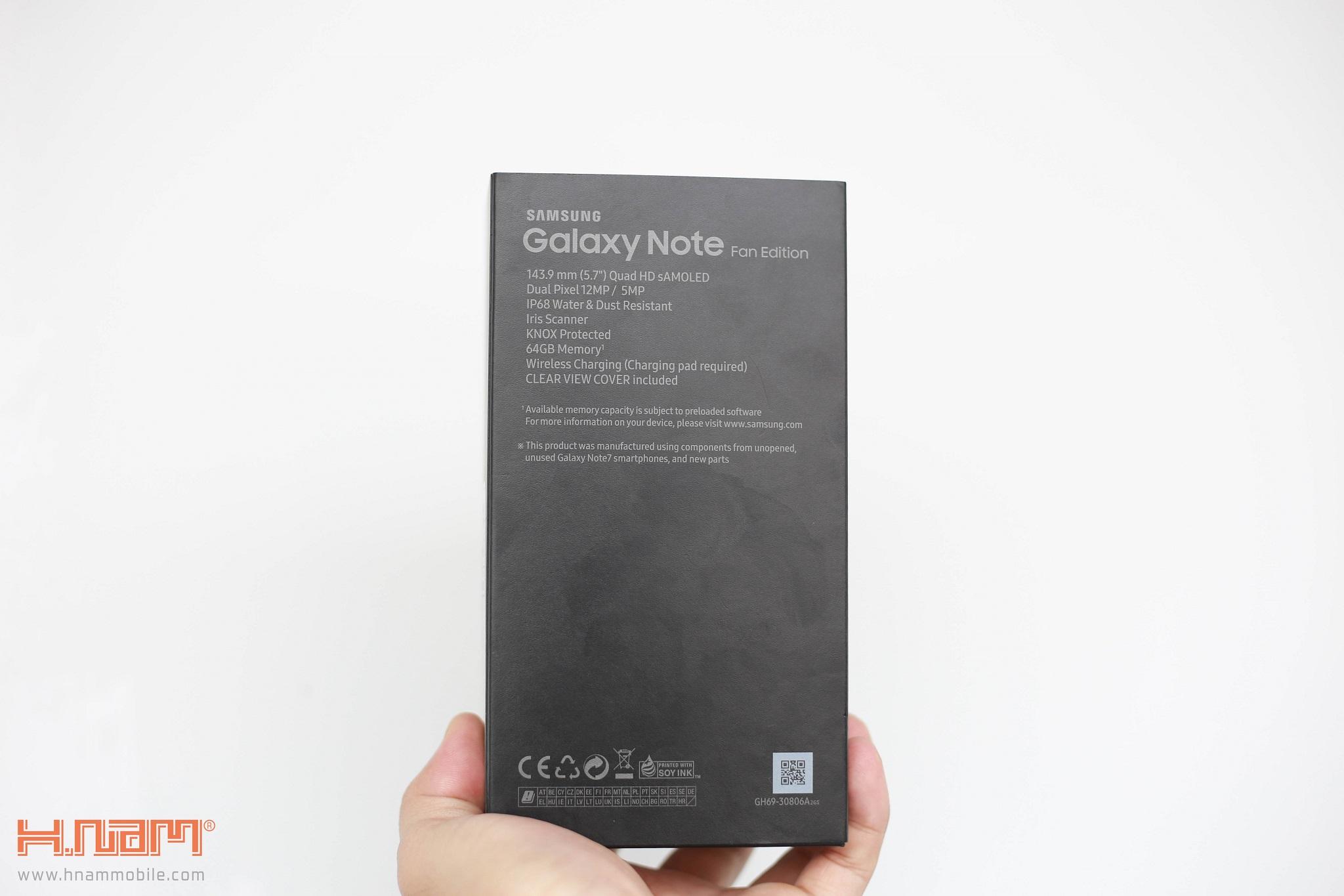 Đập hộp Galaxy Note FE Blue Coral: Phiên bản đặc biệt dành cho NoteFan hình 4