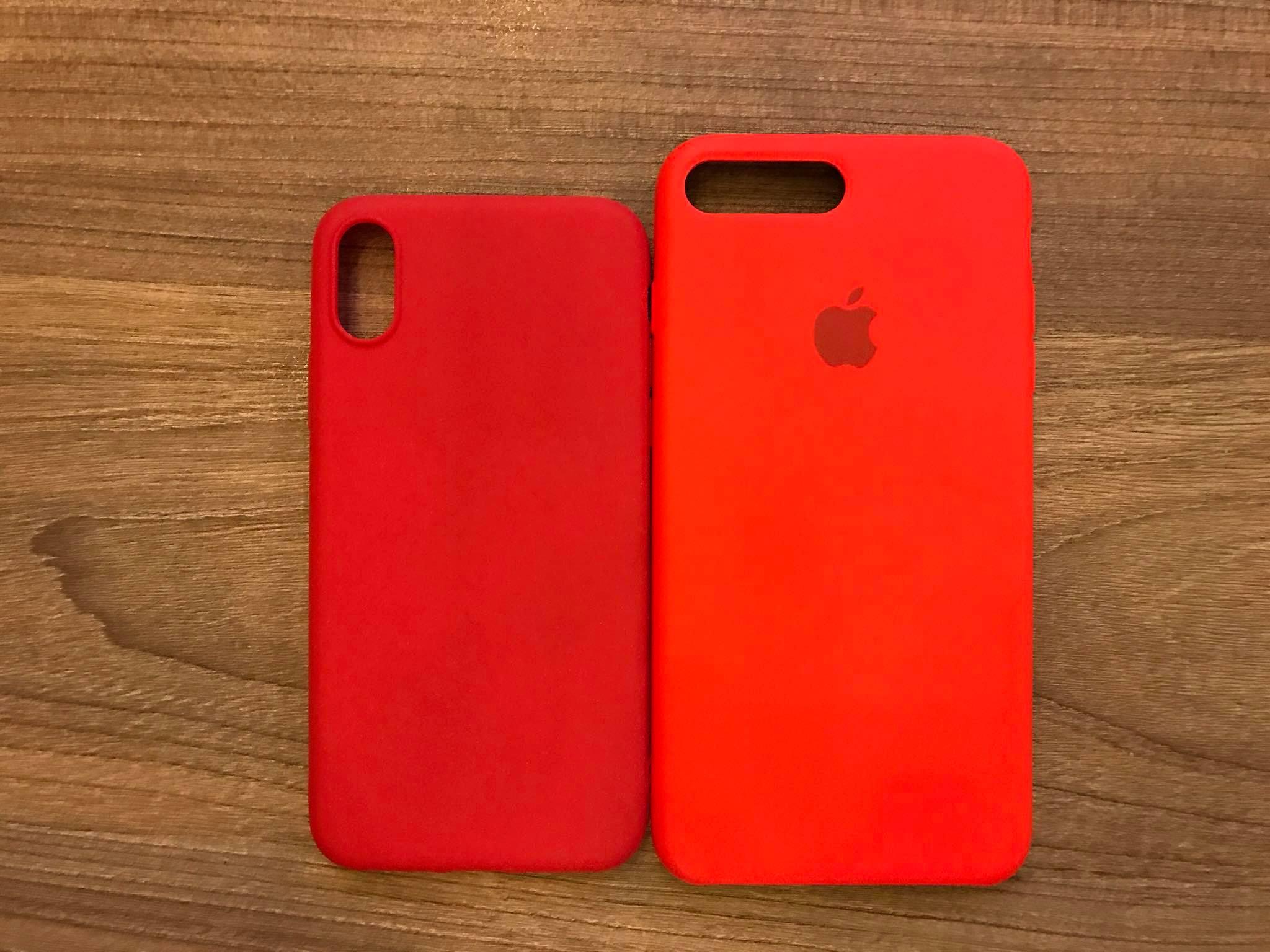Trên tay mô hình và ốp lưng iPhone 8 màu đỏ tại Việt Nam hình 8