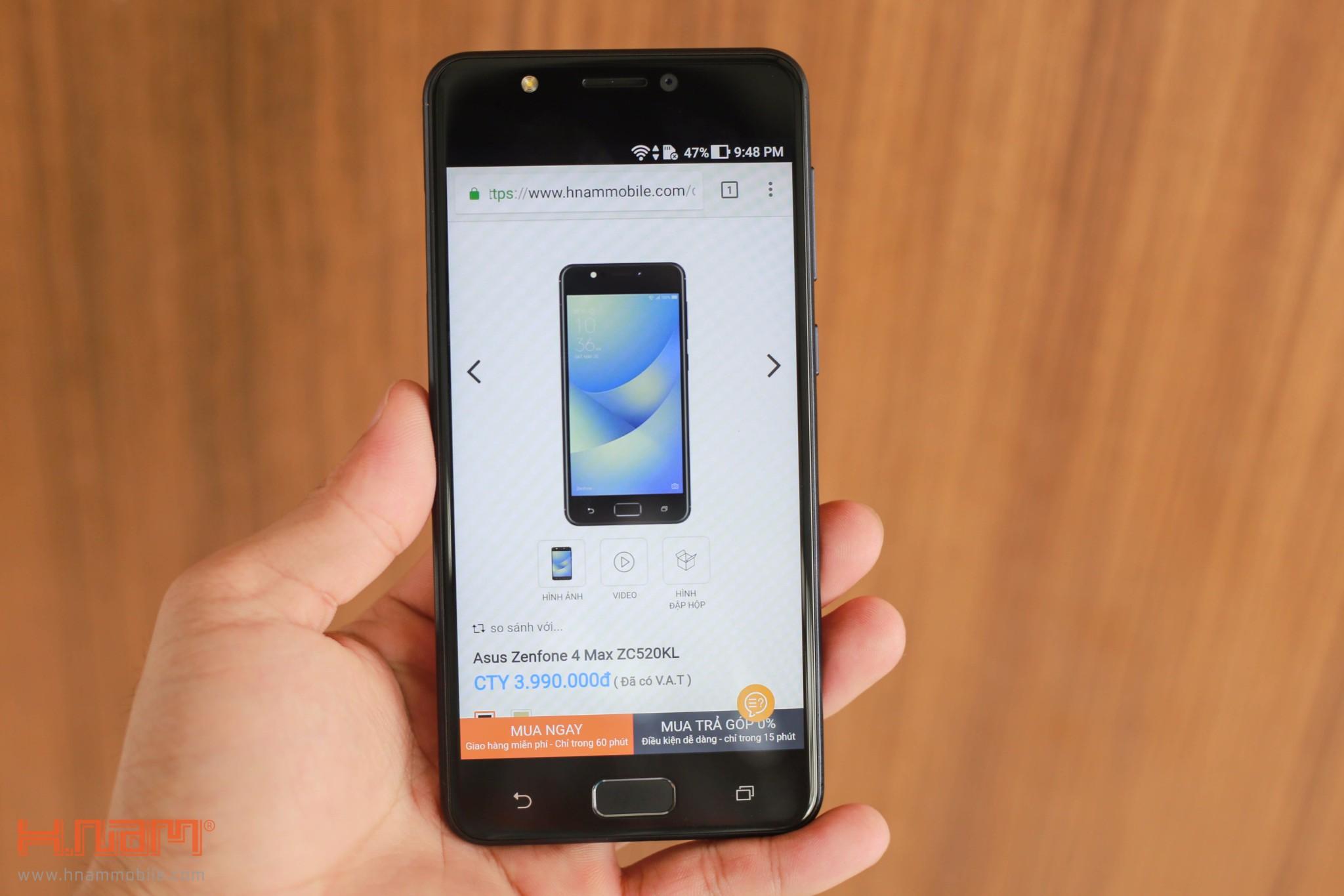 ... pin Trên tay ZenFone 4 Max: Tân binh giá 4 triệu có camera kép, pin