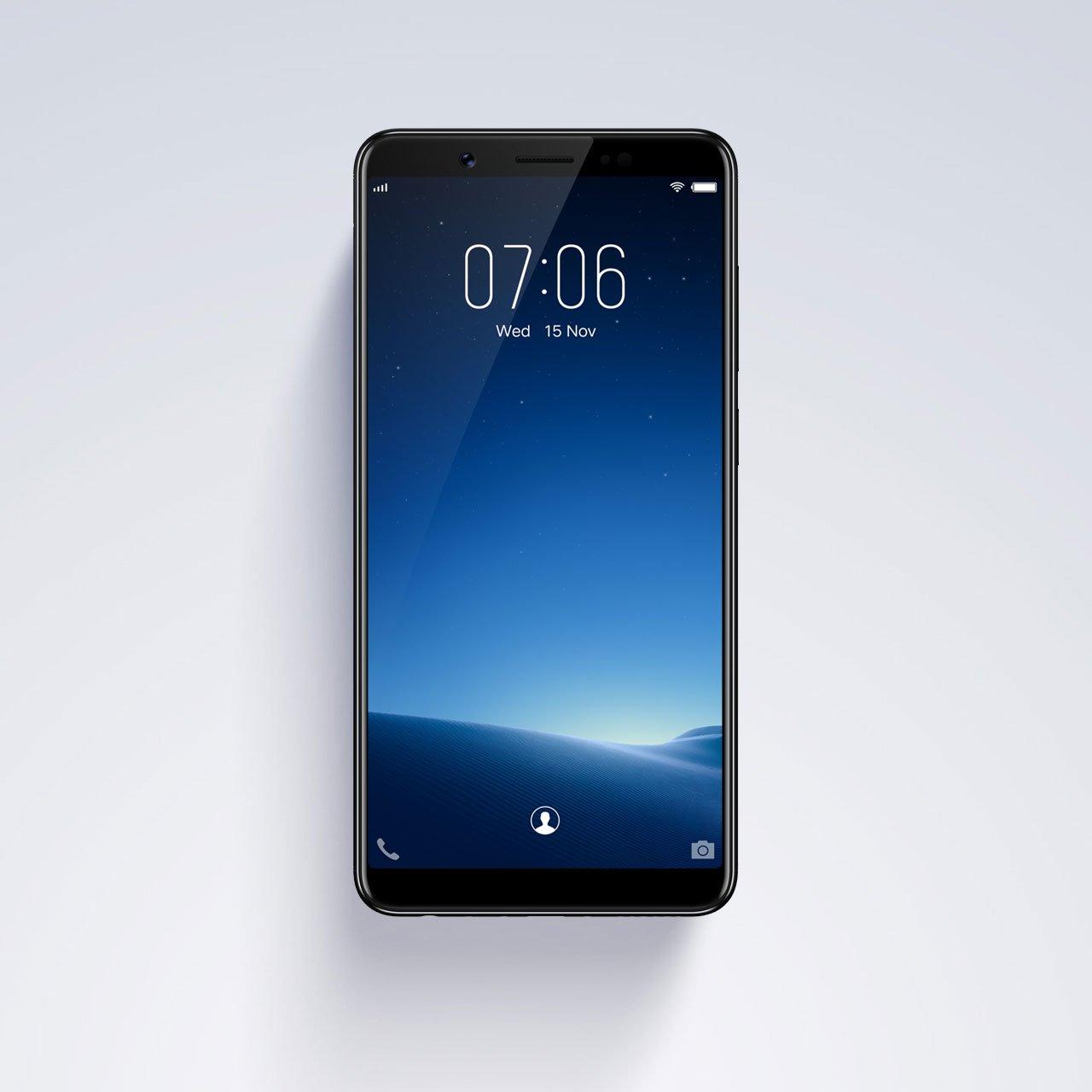 Vivo chính thức ra mắt V7: màn hình FullView, camera selfie 24MP hình 4