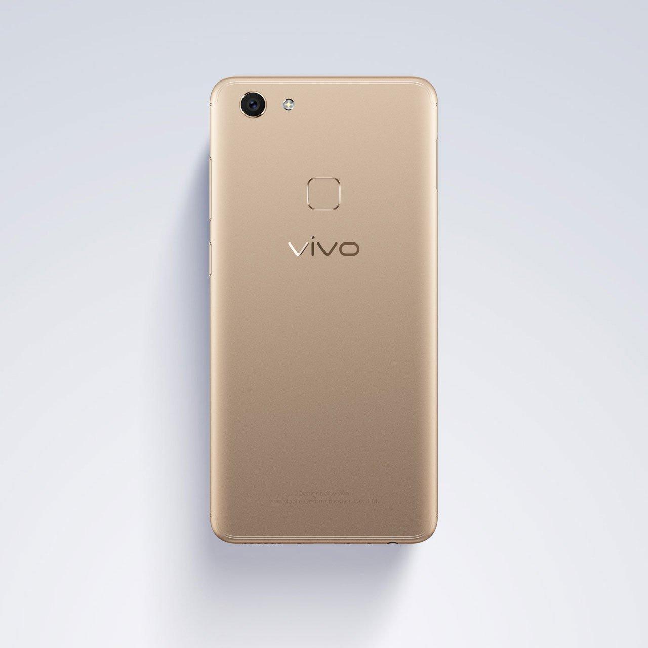 Vivo chính thức ra mắt V7: màn hình FullView, camera selfie 24MP hình 6