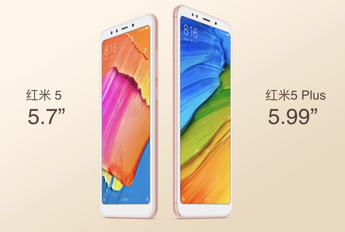 Xiaomi Redmi 5 và 5 Plus ra mắt: Màn hình 18:9, giá chỉ từ 2.7 hình 1
