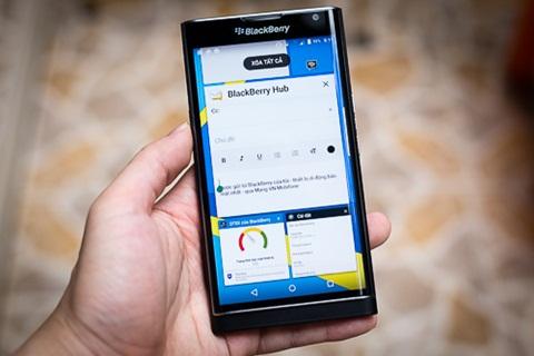 Nâng cấp BlackBerry Priv lên Android 6 0 Marshmallow