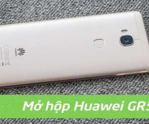 Mở hộp và đánh giá Huawei GR5: Chip Snapdragon 616 có cảm biến vân tay.