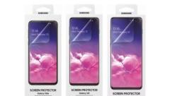 Lộ miếng dán màn hình Galaxy S10 do chính Samsung sản xuất
