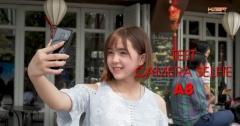 Trải nghiệm selfie xóa phông trên Samsung Galaxy A8/A8+ cùng Hằng Kiwi