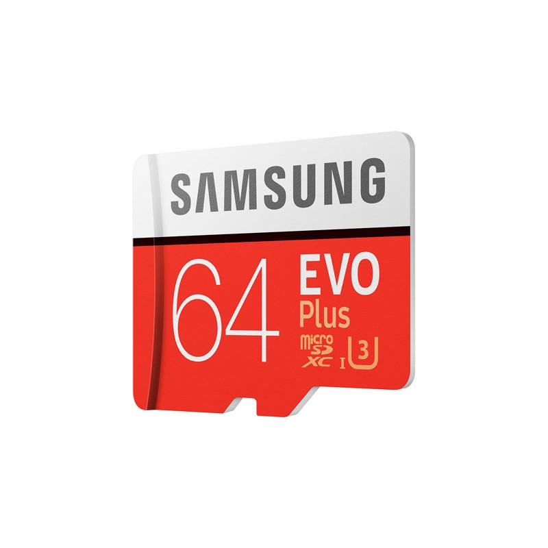 Thẻ nhớ Samsung Micro SDHC 64GB Evo Plus-4K hình 2