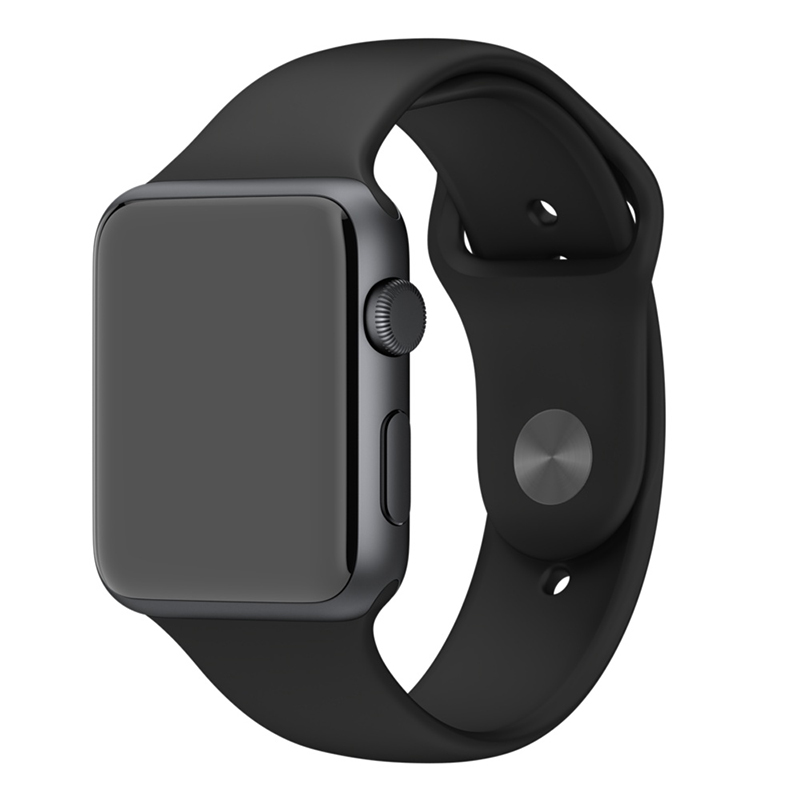Apple Watch Sport With Black Sport Band (42mm) MJ3T2 hình 0