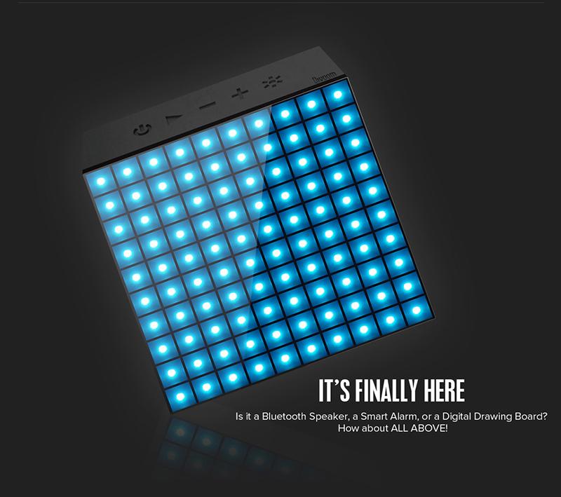 Loa Bluetooth Divoom AuraBox (Led Light) hình 1