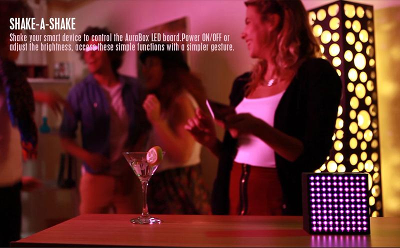 Loa Bluetooth Divoom AuraBox (Led Light) hình 7