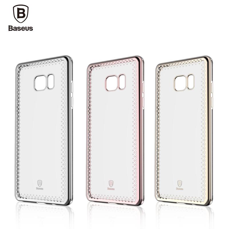 Nắp sau Baseus Shinning Samsung Note FE hình 1