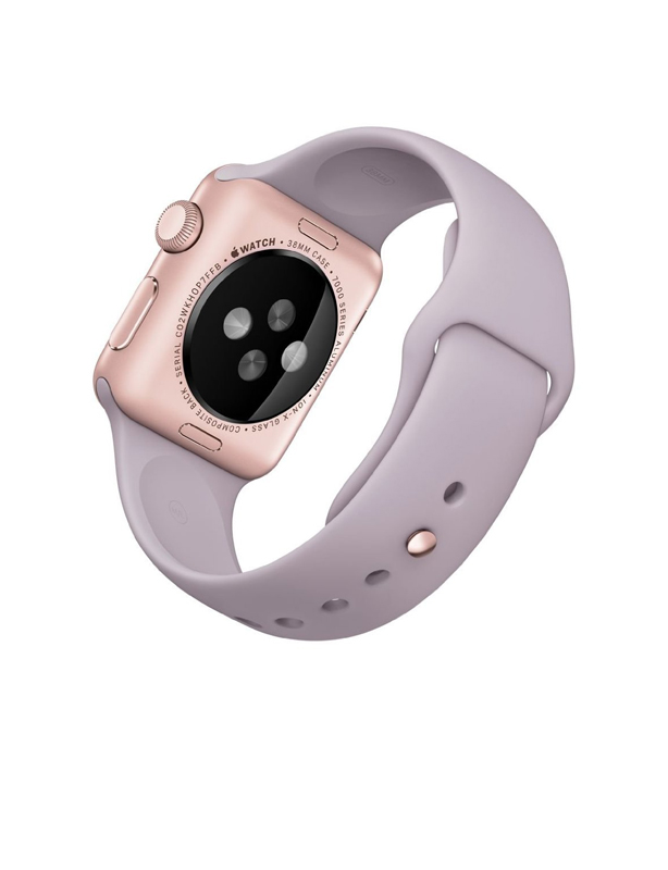 Apple Watch Sport With Lavender Sport Band (38mm) MLCH2 Rose Gold hình 3