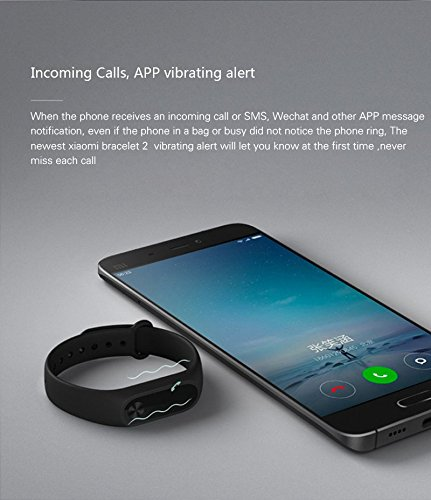 Vòng đeo tay thông minh Xiaomi Mi Band 2 hình 5