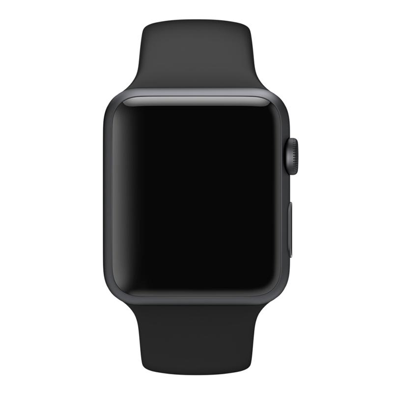 Apple Watch Sport With Black Sport Band (38mm) MJ2X2 hình 1