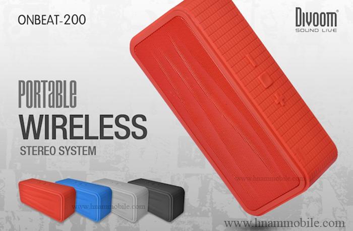 Loa Bluetooth Divoom Onbeat-200 (Có micro) hình 2