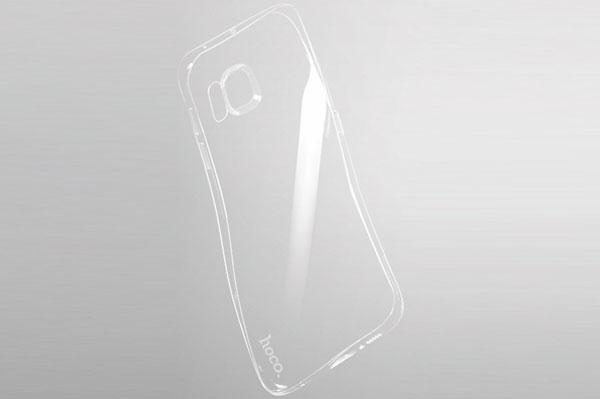 Ốp lưng Hoco TPU Galaxy S6 Edge Plus (trong suốt) hình 3