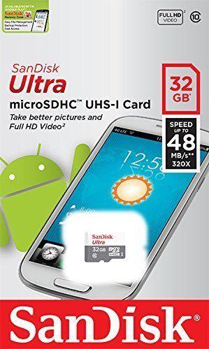 SanDisk Ultra48 microSDHC 32Gb Class 10 UHS-I hình 1