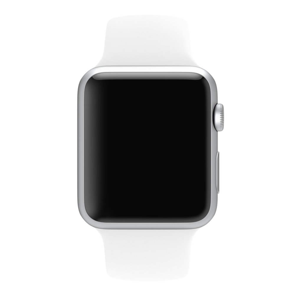 Apple Watch Sport With White Sport Band (42mm) MJ3N2 hình 1