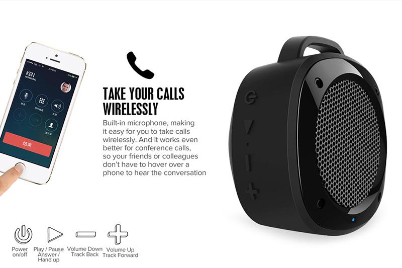 Loa Bluetooth Divoom Voombox Airbeat 10 hình 2
