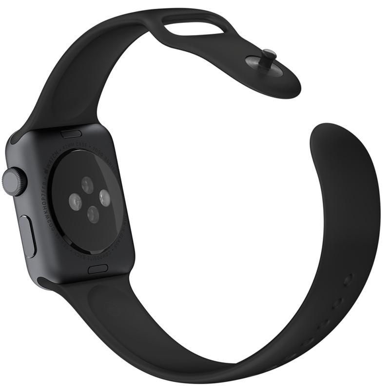 Apple Watch Sport With Black Sport Band (38mm) MJ2X2 hình 4