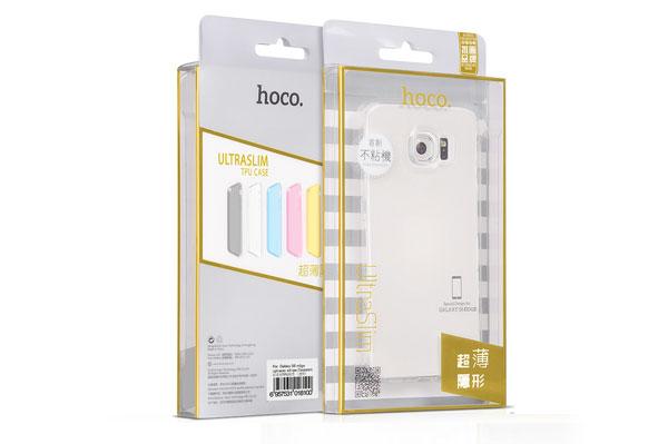 Ốp lưng Hoco TPU Galaxy S6 Edge Plus (trong suốt) hình 5