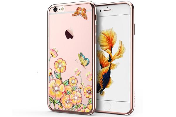 Ốp lưng Case Cube TPU Blossom iPhone 6/6S hình 1