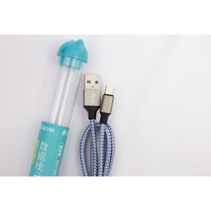 Cáp Devia Micro USB Bear (1m) hình 2