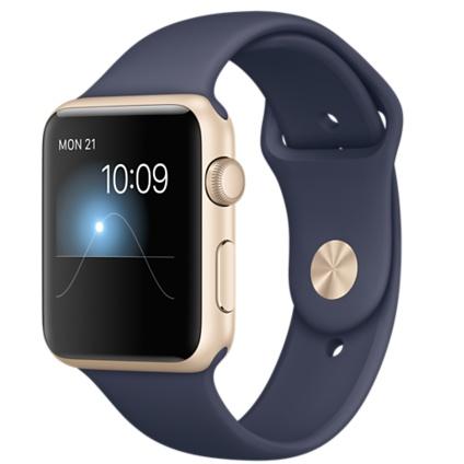 Apple Watch Sport With Mid Blue Sport Band (42mm) MLC72 hình 0