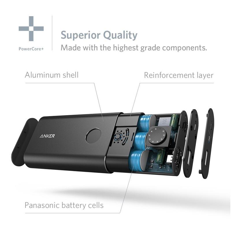 Pin dự phòng Anker 10050mAh A1310 QC2.0 hình 1