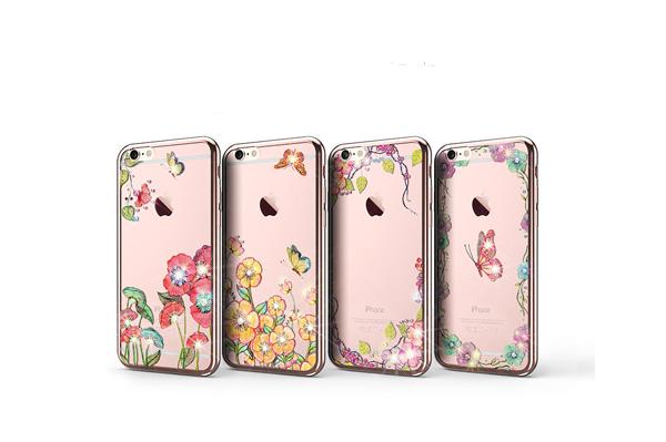 Ốp lưng Case Cube TPU Blossom iPhone 6/6S hình 4