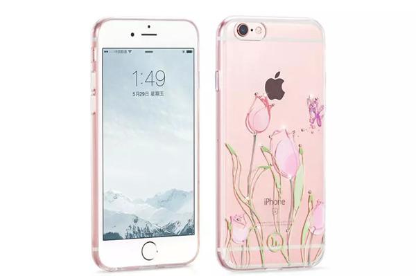 Ốp lưng Hoco TPU Flower iPhone 6/6S (TPU hoa) hình 4