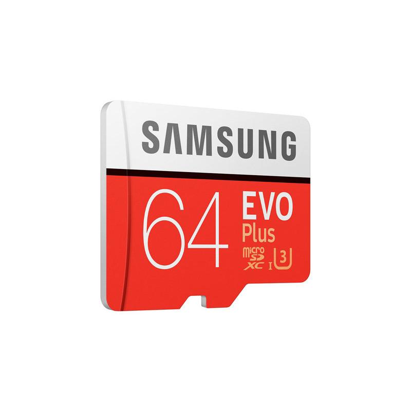 Thẻ nhớ Samsung Micro SDHC 64GB Evo Plus-4K hình 1