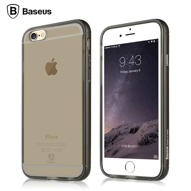 Ốp lưng Baseus Golden iPhone 6/6S (viền kim loại) hình 0